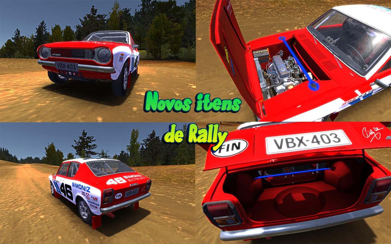 Mod] Novos Itens de Rally | My Summer Car Brasil