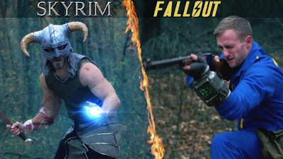 Which is better. Who would win Fallout 4 Vrs Skyrim