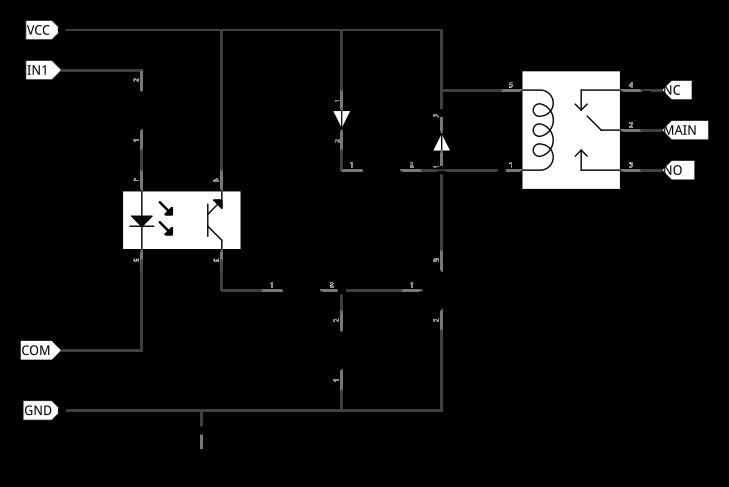 arduino les modules relais les technos d 39 olivier. Black Bedroom Furniture Sets. Home Design Ideas