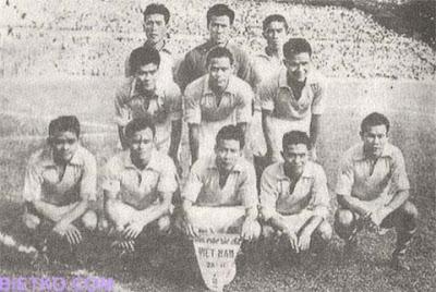 Đội tuyển vô địch Seap Games 1959 của Việt Nam
