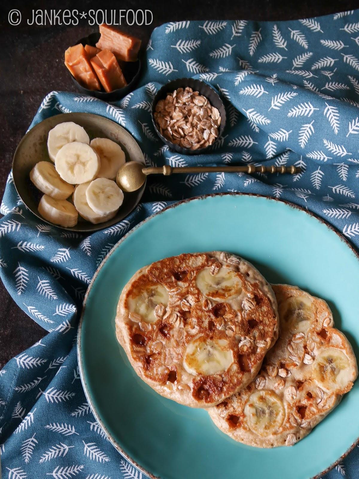 Banane-Toffee-Pfannkuchen von Jankes Soulfood
