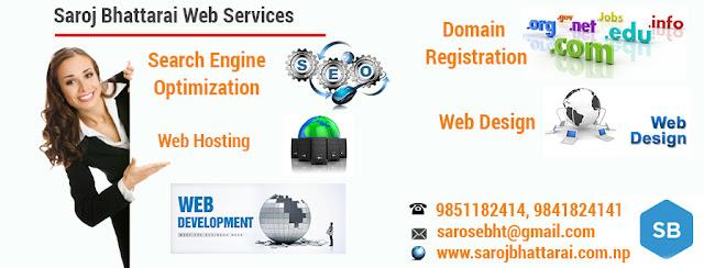 Saroj Bhattarai Web Services