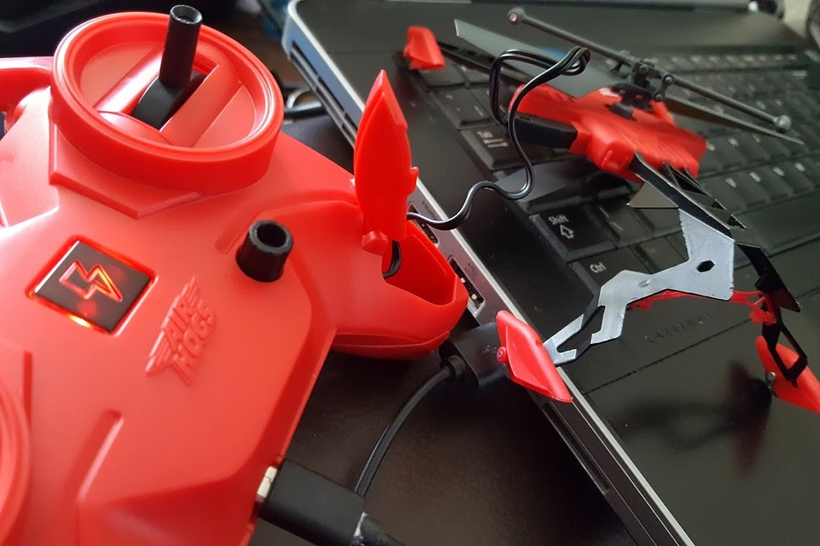 The Brick Castle: AirHogs Switchblade Review (from