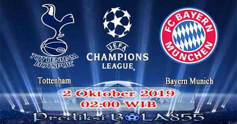 Prediksi Bola855 Tottenham vs Bayern Munich 2 Oktober 2019