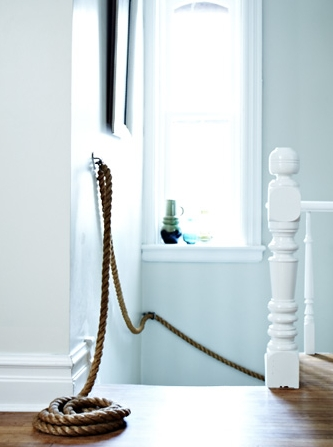 diy rope railing tutorial