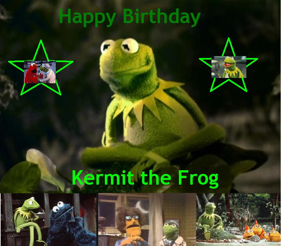 The Crumpit Puppet Troupe: Happy 62nd Birthday Kermit
