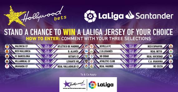 Fixtures of LaLiga games