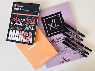 Materiales para lettering