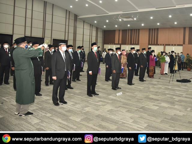 Dirjen PAUD Dasmen Lantik Pejabat Fungsional Widyaprada  pada UPT dan PTP