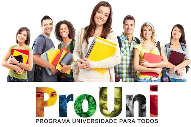 Inscrições para o Prouni do 2º semestre já estão abertas