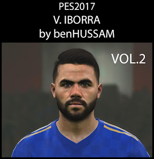 PES 2017 Faces Vicente Iborra by BenHussam