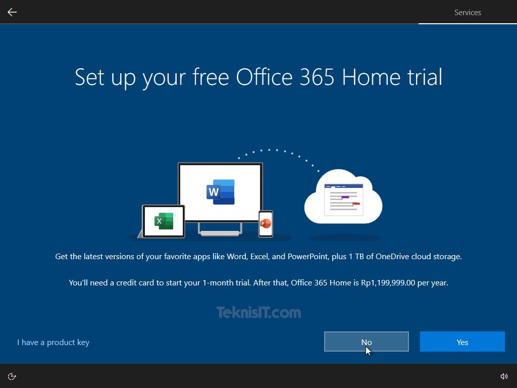 Cara menginstal ulang laptop Windows 10