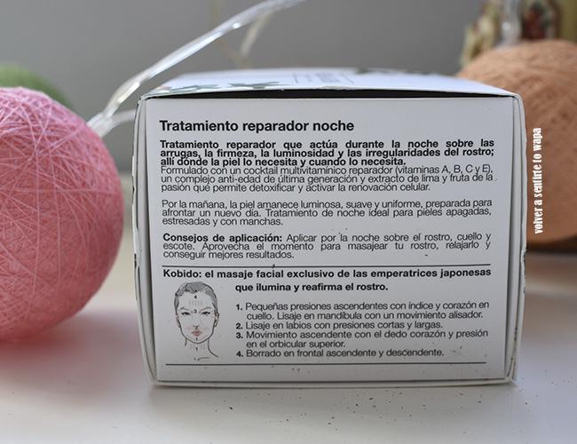 Vitamin inFusion de Bella Aurora - Tratamiento reparador nocturno anti-edad