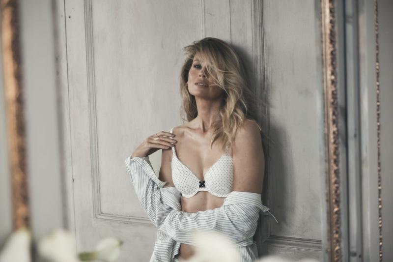 Daniela Pestova poses in Body by Victoria Victoria's Secret 2020 campaign