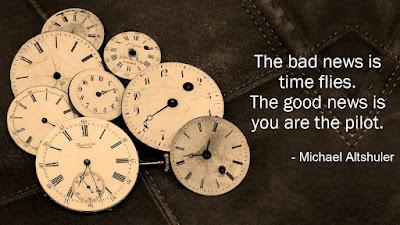 Time quotes - Michael Altshuler quotes
