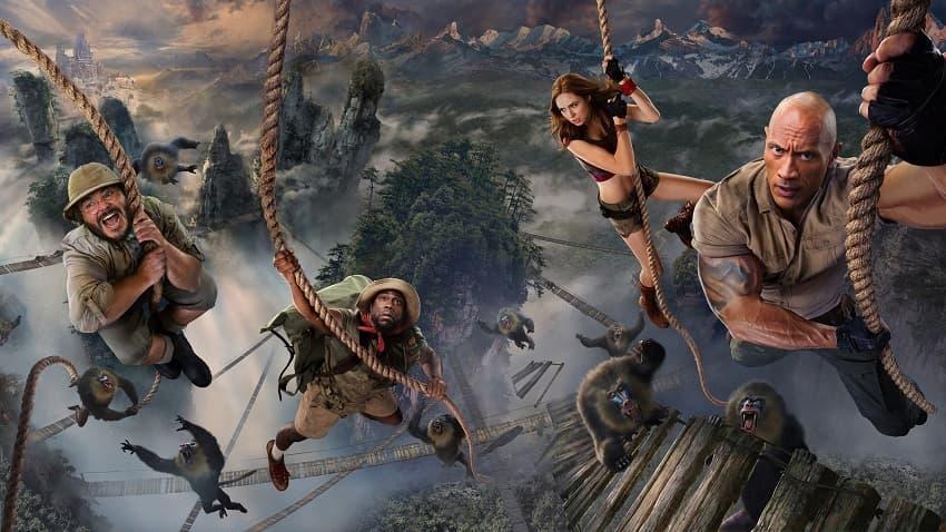 В фильме «Джуманджи: Новый уровень» есть две сцены после титров