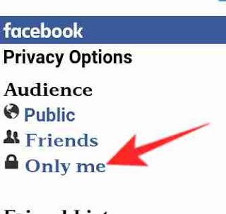 Facebook mobile number hide kaise kare 5