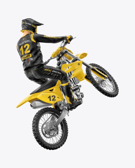 Download Motocross Racing Kit Mockup