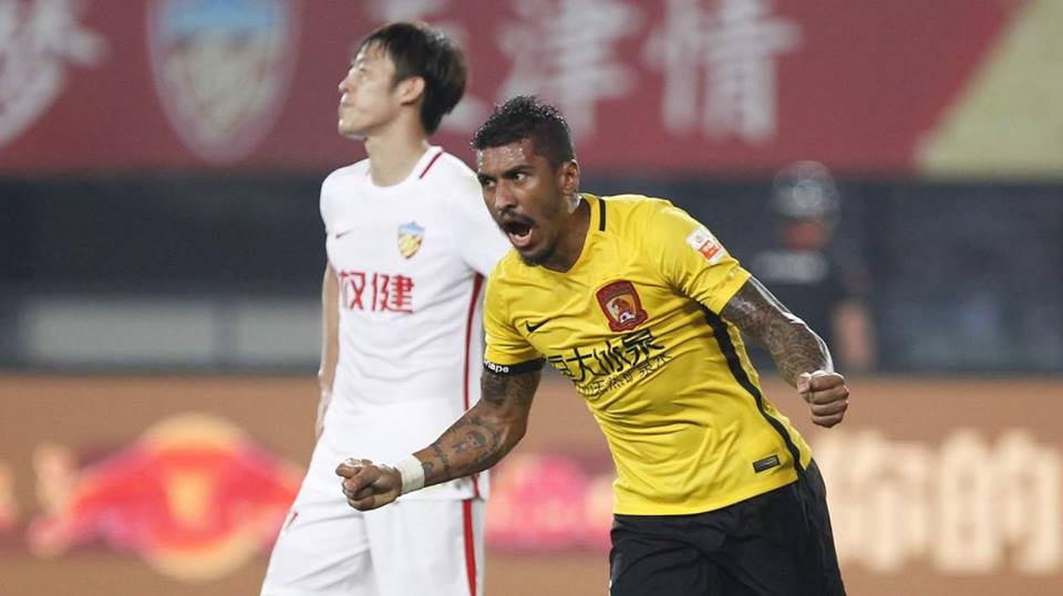 Barcelona set sights on Evergrande's Paulinho