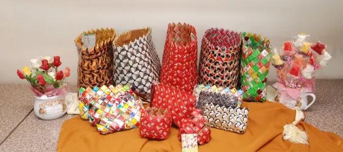 usaha kerajinan daur ulang dari bahan bekas dengan modal kecil