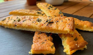 Cheese and Garlic Breadsticks