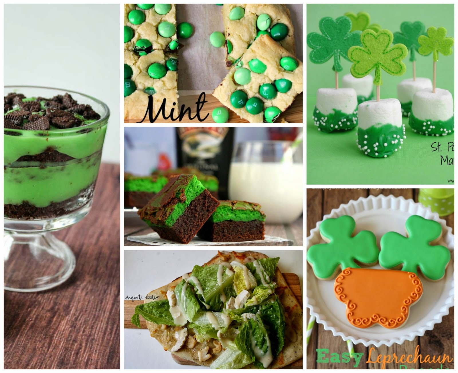 55 Fabulous Sweet & Savory St Patrick's Day Recipes | Anyonita Nibbles | 55 of the best ideas for green food for St Patrick's Day