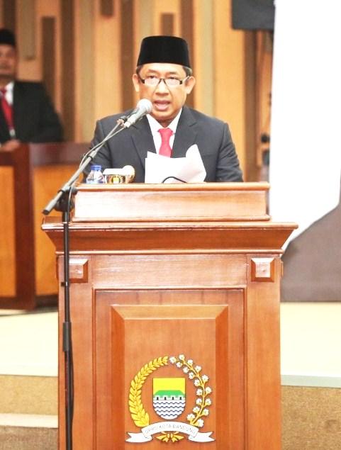 Pelantikan Anggota DPRD, Yana : Perkuat Sinergi Eksekutif dan Legislatif  Dalam Membangun Bandung