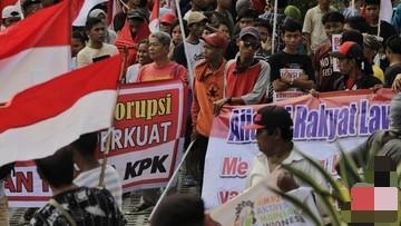 Waduh! Peserta Demo Gedung KPK Ungkapkan Pengakuan Memalukan