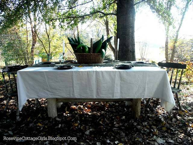 Rustic Thanksgiving Centerpiece