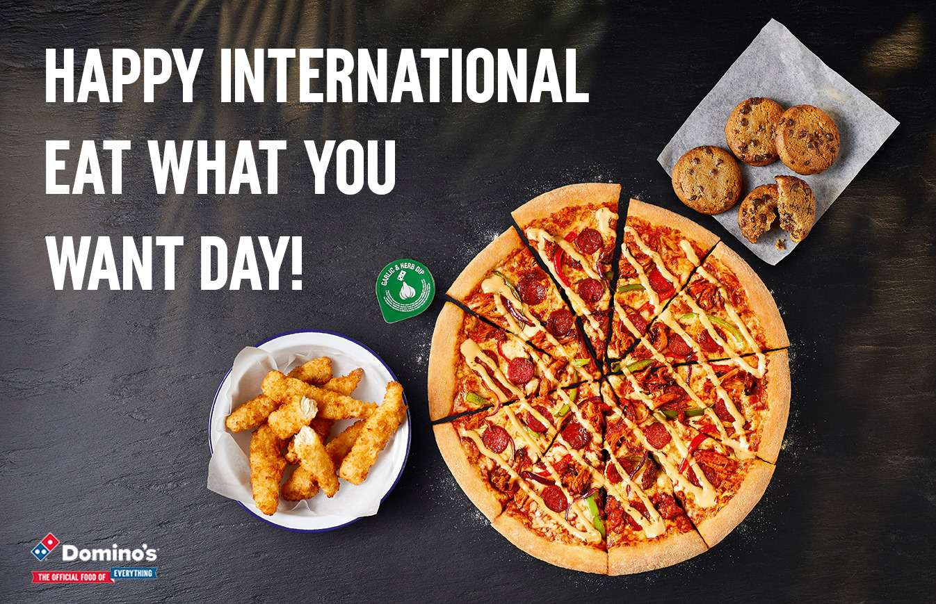 National Eat What You Want Day Wishes Beautiful Image
