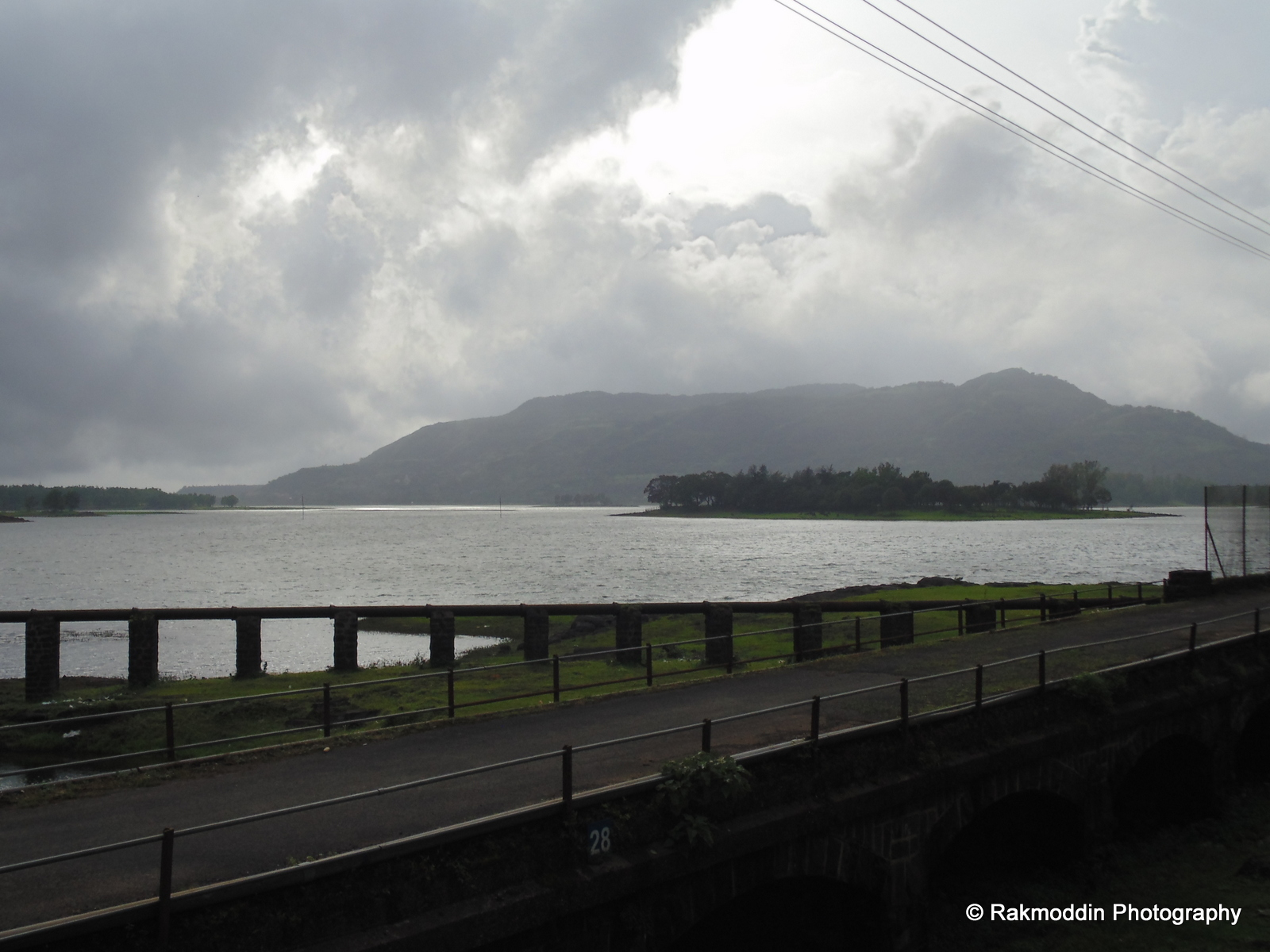 Lonavala Lake, near Pune, Maharashtra, India