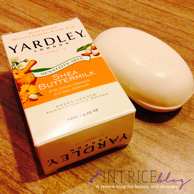 Yardley London Shea Buttermilk Soap Sensitive Skin - intrice.blogspot.com