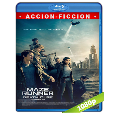 Maze Runner La Cura Mortal (2018) BRRip Full 1080p Audio Trial Latino-Castellano-Ingles 5.1