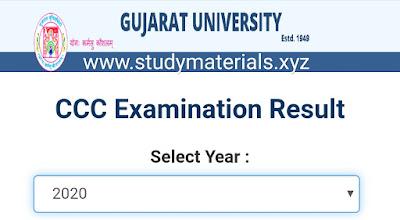 Gujarati university ccc 2020