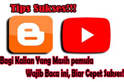 Tutorial Sukses Blog dan Youtube Bagi Pemula Mudah dan Ampuh by maswisnu.com