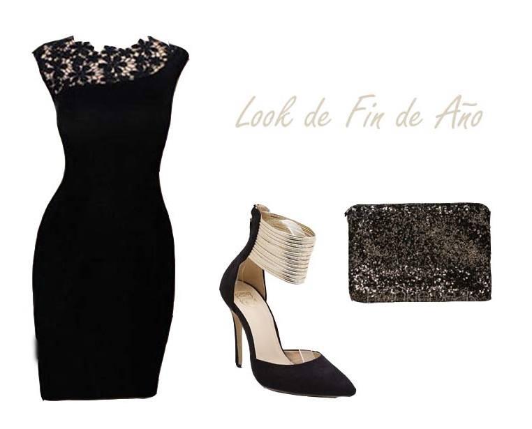 LBD vestido look elegante