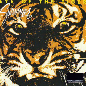 Eye of the Tiger, Survivor. Portada del álbum de 1982