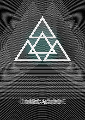 Crazy Ideas Triangle Poster Designs