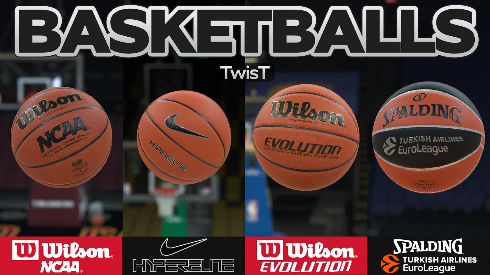 DNA Of Basketball | DNAOBB: NBA 2K18 Basketballs v2.1 by TwisT