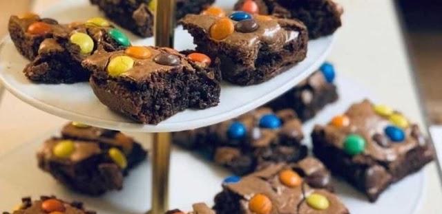 M&M's Brownies