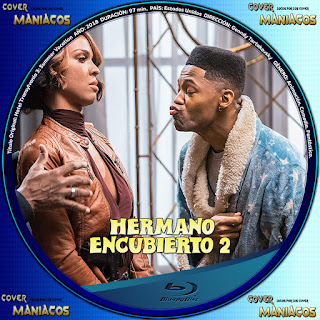 GALLETA 1 HERMANO ENCUBIERTO 2 2019[COVER BLU-RAY]