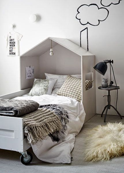 Habitación infantil de estilo Nórdico