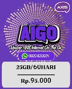 Voucer Axis 25GB/60HARI