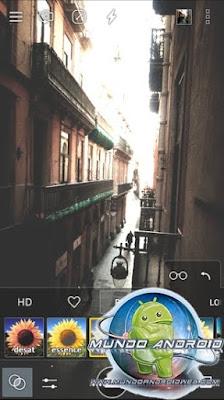Vista de la App Cameringo+