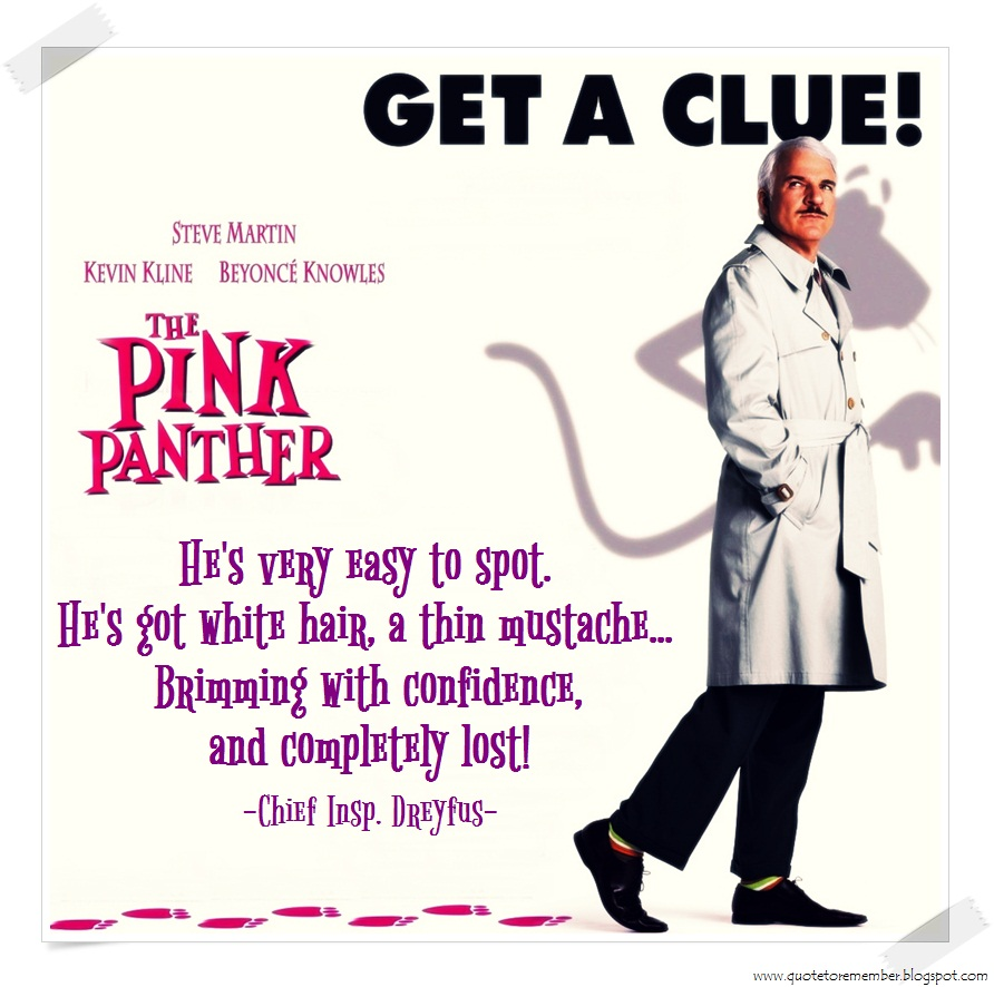 Pink Panther Funny Quotes. QuotesGram - photo#9