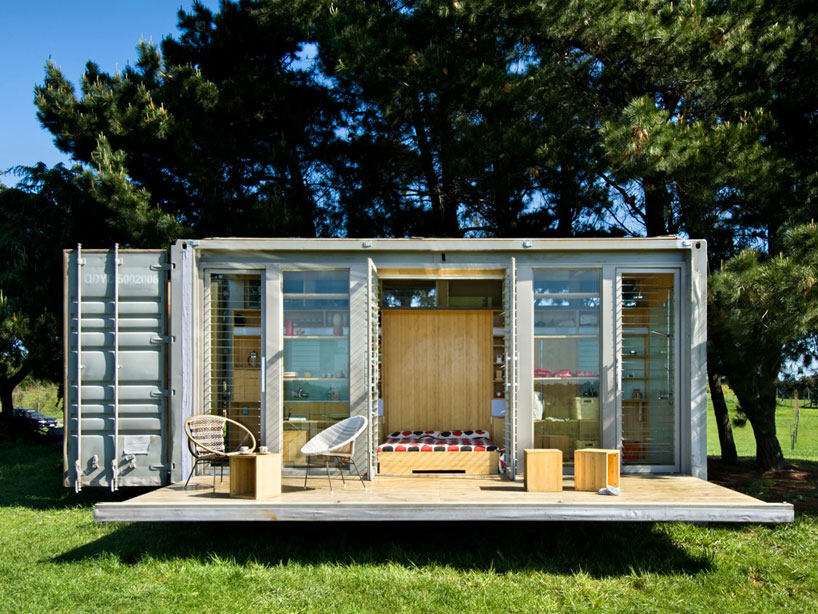 Holiday Shipping Container Home Architecture Modern Idea