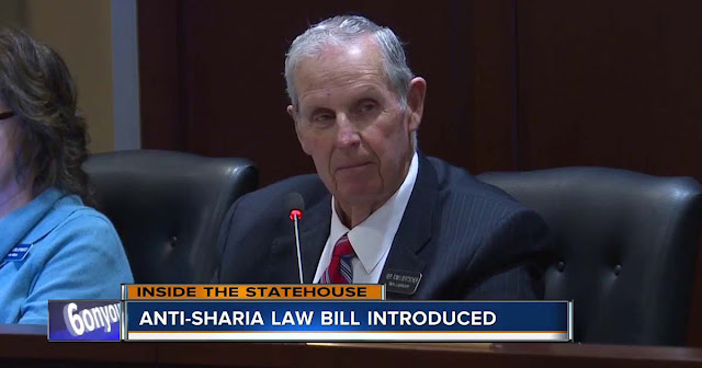VIDEO US Lawmakers Introduce a Bill to Ban Sharia law - Muslims are outraged.