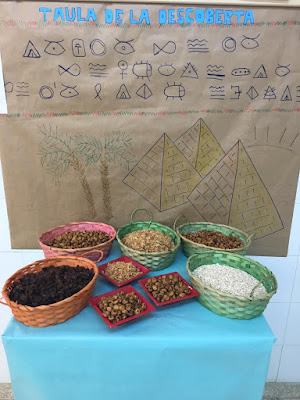 Imatge de la taula de la descoberta d'Egipte