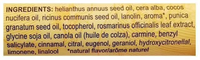 burts bees pomegranate sklad