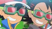 Capitulo 36 Serie Viajes Pokémon: Satoshi y Gou, ¡arrastrándose desde el bucle de arena!